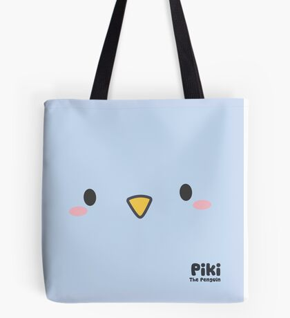 Piki Face Tote Bag