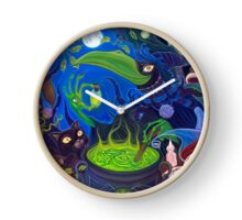 Dark Witch Clock