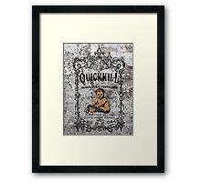Quickkill Framed Print