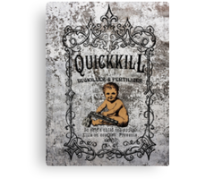 Quickkill Canvas Print