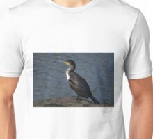 Great Cormorant In Harbour Unisex T-Shirt