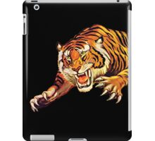 TIGER, ATTACK, Pounce, from Circus Poster iPad Case/Skin
