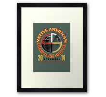 native american heritage month Framed Print