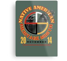 native american heritage month Metal Print