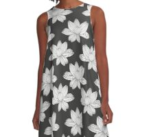 lotus flower pattern A-Line Dress