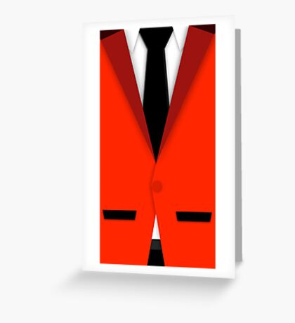 Jersey Boys Suit Greeting Card