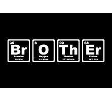 Brother - Periodic Table Photographic Print