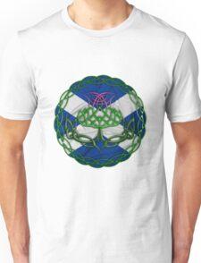 Celtic Knot Thistle Unisex T-Shirt
