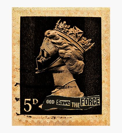 God Save The Force Photographic Print