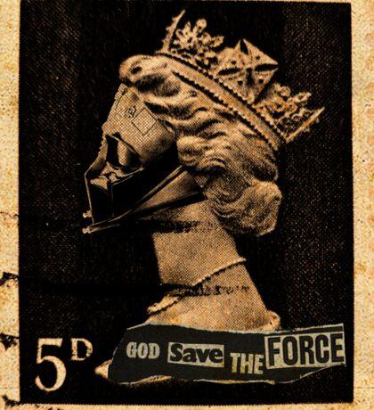 God Save The Force Sticker