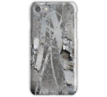 Winter Trees Rust Abstract iPhone Case/Skin