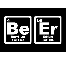 Beer - Periodic Table Photographic Print