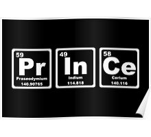 Prince - Periodic Table Poster