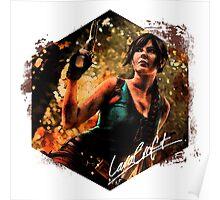 Lara Croft Poster