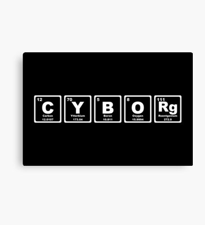 Cyborg - Periodic Table Canvas Print