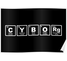 Cyborg - Periodic Table Poster