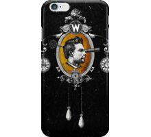 The Watchmaker (black version) iPhone Case/Skin