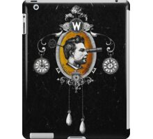 The Watchmaker (black version) iPad Case/Skin