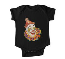 CLOWN, Clown Head, Circus, Vintage, Advertising, Poster, Scary One Piece - Short Sleeve