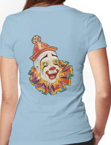 CLOWN, Clown Head, Circus, Vintage, Advertising, Poster, Scary Womens Fitted T-Shirt