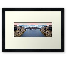 York. The River Ouse double take. Framed Print