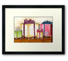 Christmas Presents Framed Print