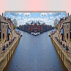 York. The River Ouse double take. by Robert Gipson