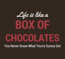 Life Is Like A Box Of Chocolates - Forrest Gump by devige