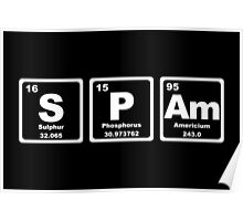 Spam - Periodic Table Poster