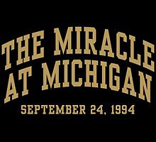 The Miracle at Michigan by aBrandwNoName