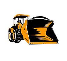 Bulldozer Construction Vehicle Kids Boys Girls Men Women Photographic Print