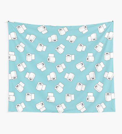 doodle pattern. toilet paper Wall Tapestry