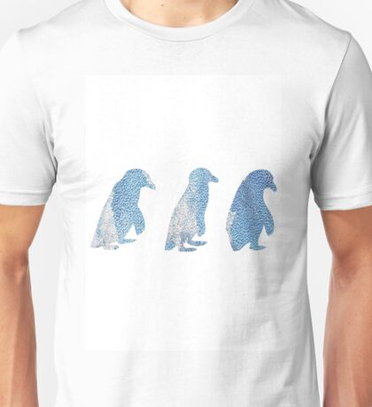 Penguin Trio Unisex T-Shirt