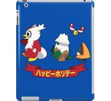 Happy Pokémon Holidays! iPad Case/Skin