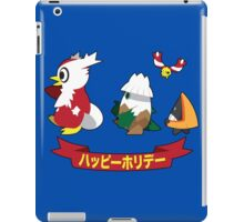 Happy Pokémon Holidays! iPad Case/Skin