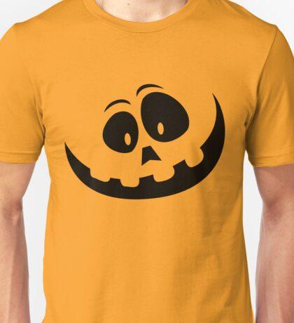 Carved Pumpkin Halloween Jack O Lantern Unisex T-Shirt