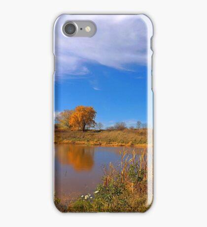 Forest Beach Migratory Preserve Pond iPhone Case/Skin