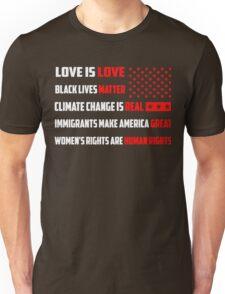 Love Is Love Trump - White Unisex T-Shirt