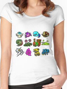 Chibi Fakemon Women's Fitted Scoop T-Shirt