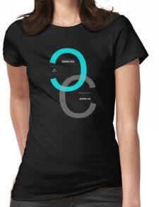 Deeper Love Deeper Life Sentence Motivational Quote Text Womens Fitted T-Shirt