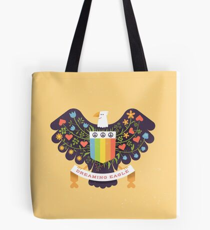 Dreaming (not Screaming) Eagle Tote Bag