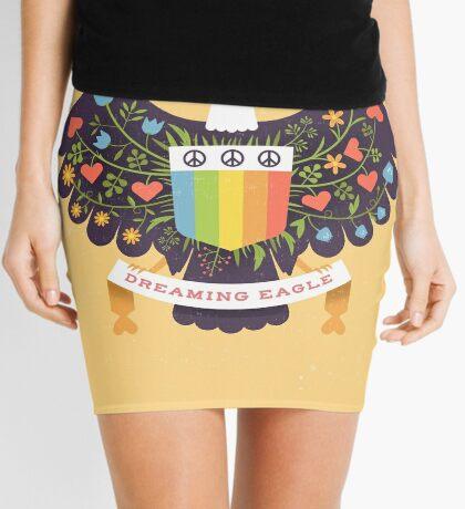 Dreaming (not Screaming) Eagle Mini Skirt