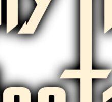 Rhythm Section White Sticker