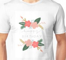 Fiona Happy Birthday/Greetings Card Unisex T-Shirt