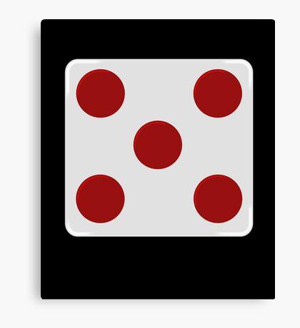 rebel alliance: general rank badge Canvas Print