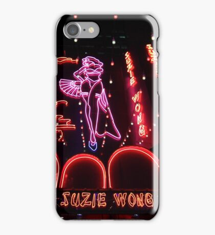 Suzie Wong bar on Soi Cowboy in Bangkok iPhone Case/Skin