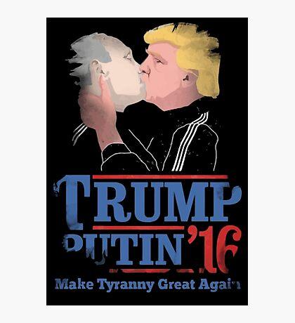 Trump And Putin Photographic Print