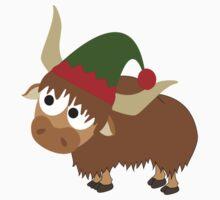 Yak Christmas Elf Kids Clothes