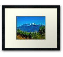 Mount Saint Helens Framed Print