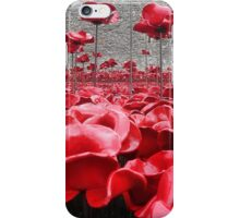 Tower Of London Remembers iPhone Case/Skin